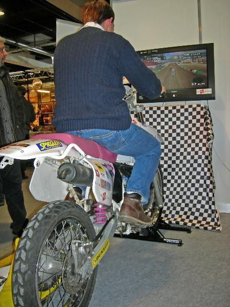 moto cross simulator
